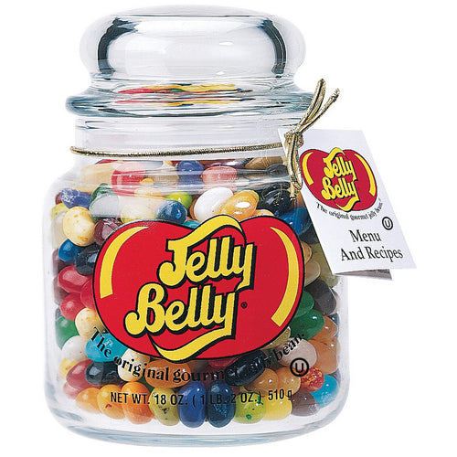 Jelly Belly 49 Assorted Jelly Bean Flavors Apothecary Jar