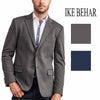 Ike Behar Mens Stretch Knit Classic Two Button Sport Coat