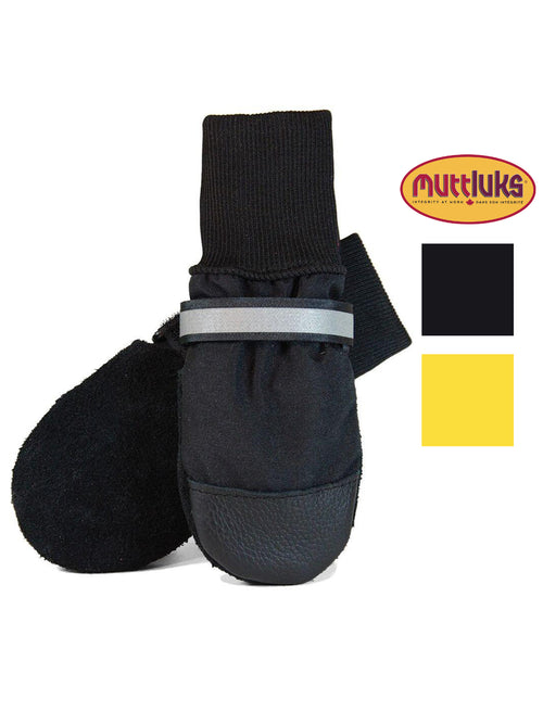 Muttluks Original All-Weather IB to XXL Dog Boots, 4 Pack