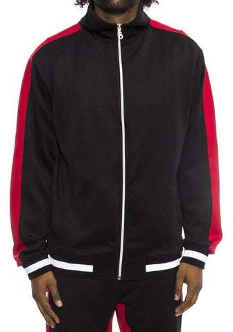 Hudson Outerwear Dual Stripe Mens Track Jacket
