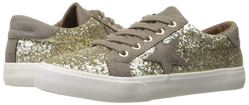 Not Rated Womens Illana Glitter Fashion Sneaker