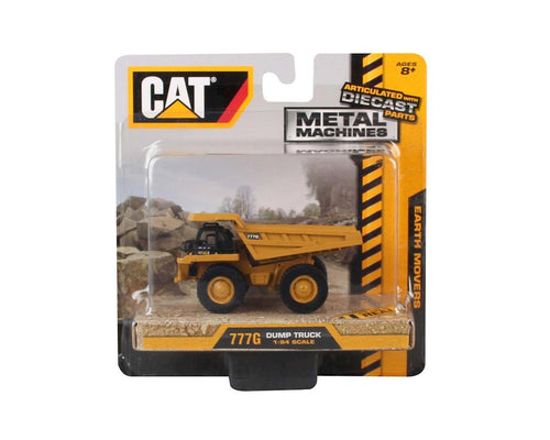 Daron Metal Machines Earth Movers CAT Dump Truck Toy