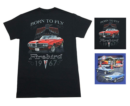 Joe Blow Mens Official Licensed Classic Car Graphic Print Cotton Tee Shirt