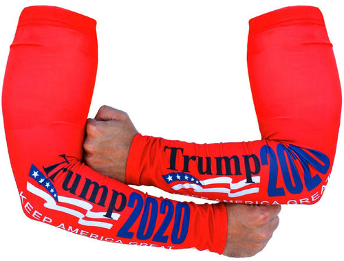 CSI Solar Sleeves Wave Trump 2020 Protective Arm Sleeves, UPF Protection 40+