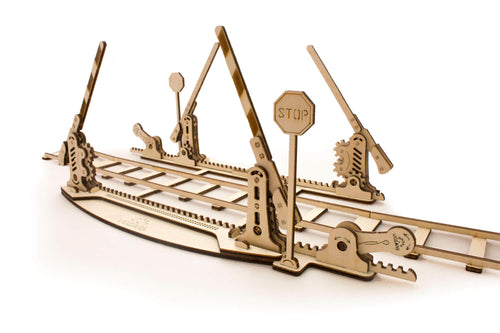 UGears Plywood Rails Collectible Mechanical Model