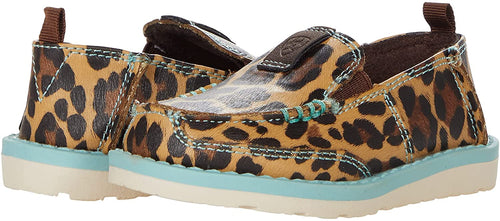 Ariat Girls Natalie Cruiser Toddlers Leopard Print Casual Shoe