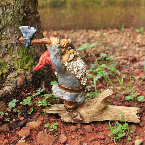 Top Collection Miniature Garden Gnome Statue