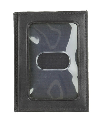 Trafalgar Mens Alicante Exterior Money Clip Wallet