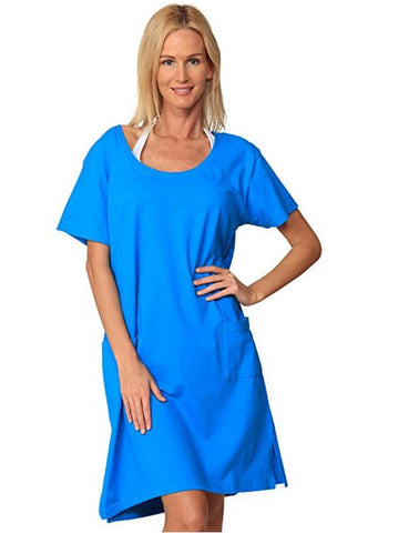 Ingear Womens Short Sleeve T-Shirt Cover Up Dress