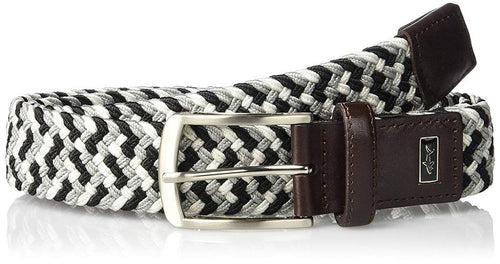 Greg Norman Mens Braided Multi Colored Stretch Golf Belt