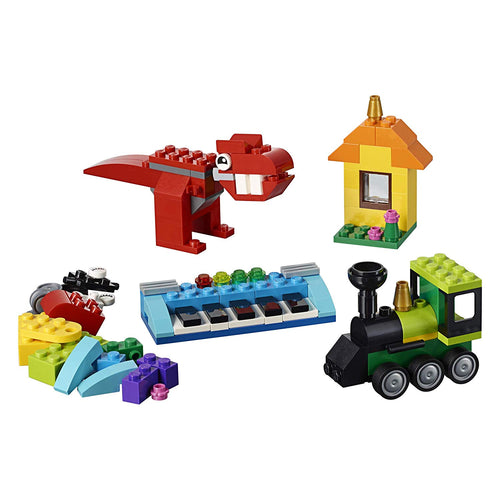 LEGO Classic Bricks and Ideas Building Kit (11001, 123 Pieces)