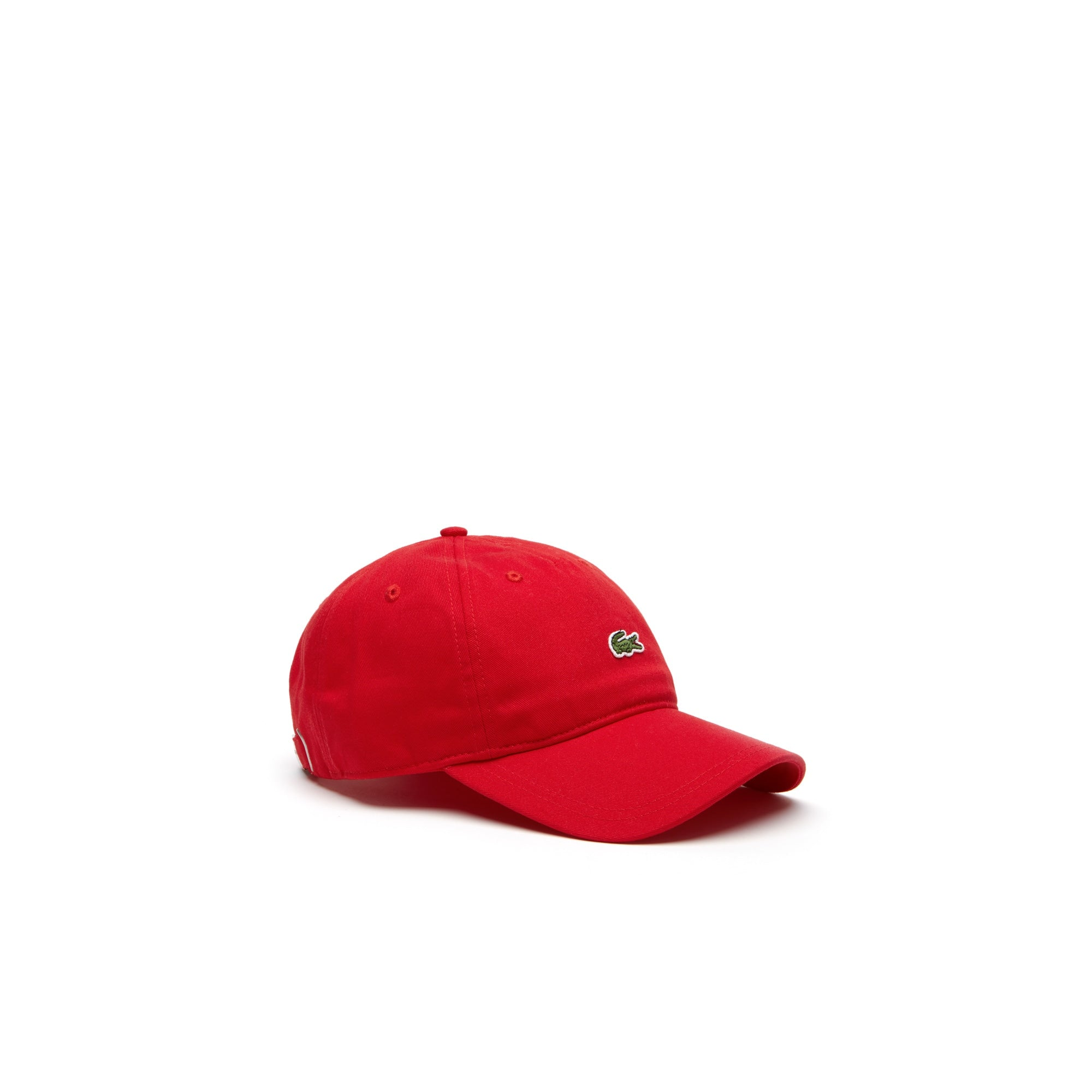 80ec74fa2 Lacoste Men's Embroidered Small Croc' Snapback Cotton Cap Hat – Shop ...