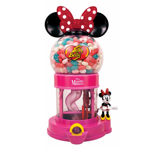 Jelly Belly Disney Minnie Mouse Jelly Bean Dispenser Machine Includes Sample Bag