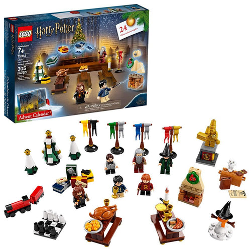 LEGO Harry Potter Advent Calendar Building Kit (75964, 305 Pcs)