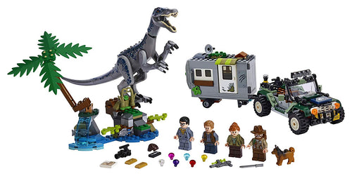 LEGO Jurassic World Baryonyx Face-Off: The Treasure Hunt Building Toy (434 Pcs)