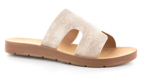 Corkys Footwear Womens Bogalusa Slip On Sandal