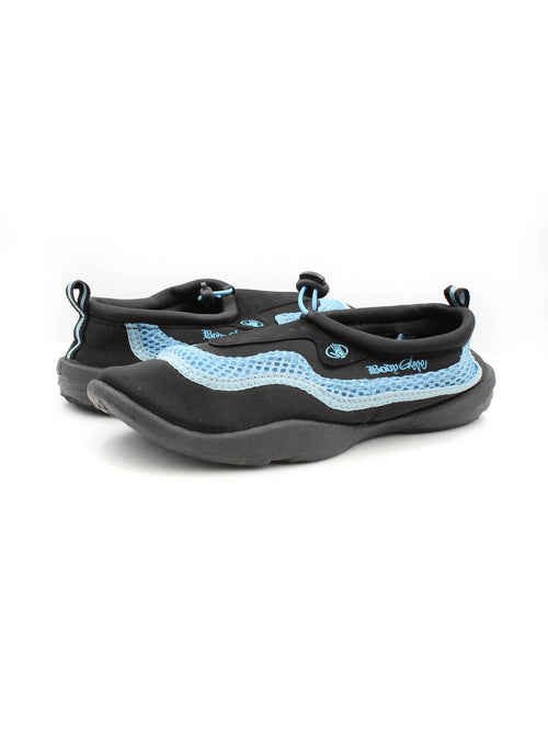 Body Glove Girls Riptide II Water Shoes (Black/Carolina, 6)