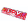 Jelly Belly LOVE Beans 4 oz Clear Valentine's Day Candy Gift Box
