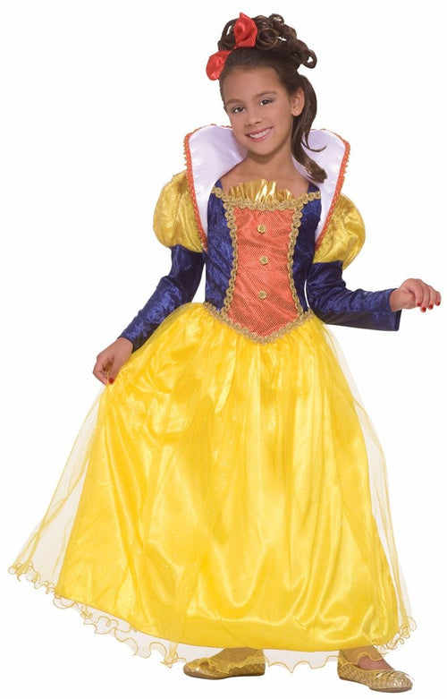 Golden Dream Princess Girls Snow White Costume Dress