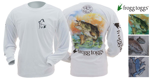 Men's Frogg Toggs Piscatorian Mesh Performance Shirts