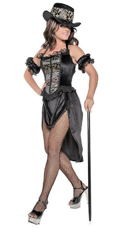 Underwraps Women's Moulin Rouge Risque Burlesque Costume (Large)