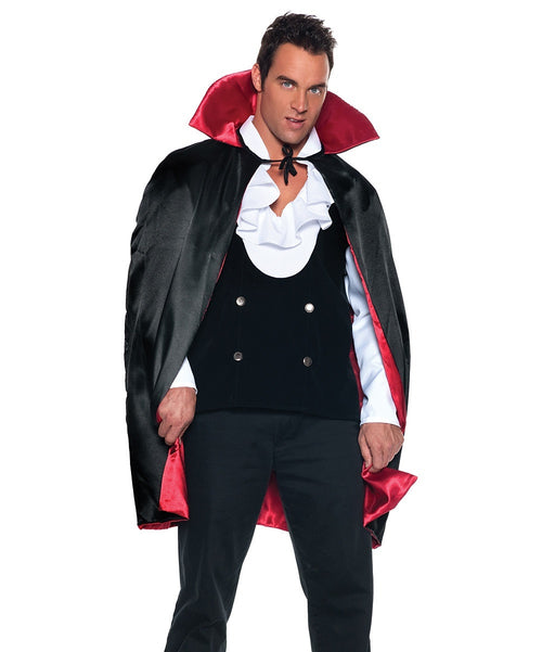 Underwraps Men's Vampire Set Transylvanian Gothic Costume (One Size)