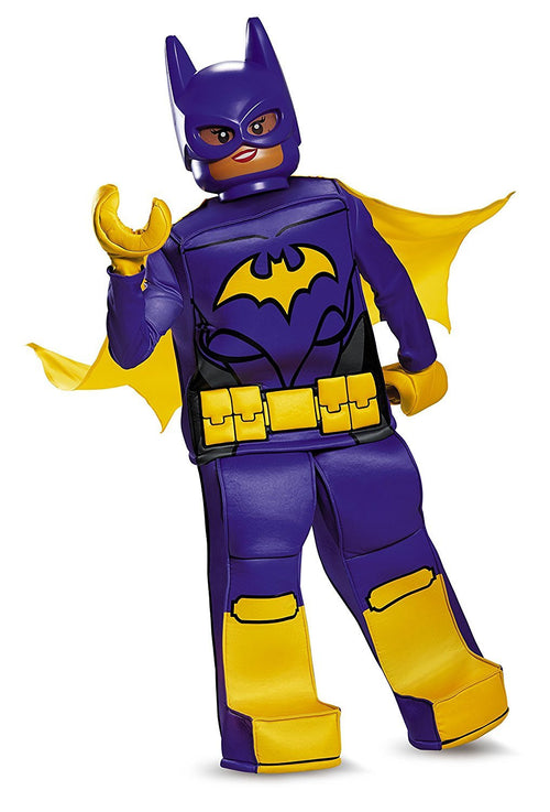 Disguise Kids DC Comics LEGO Batgirl Movie Child Cosplay Prestige Costume