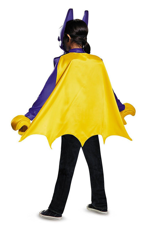 Disguise Kids DC Comics LEGO Batgirl Movie Child Cosplay Classic Costume