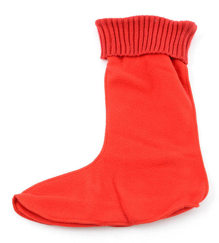 Corkys Womens Fashion Fleece Boot Warmer Sock-Rainboot Cold Weather Boot Liners