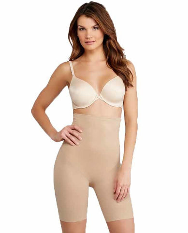 TC Fine Intimates Extra-Firm Control High-Waist Thigh Slimmer with Back Magic