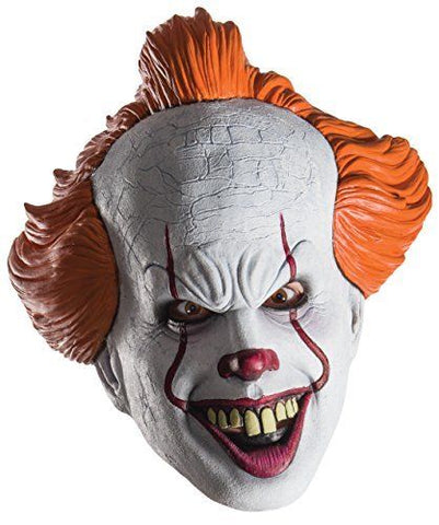 "Rubies Adult ""IT"" Movie Pennywise the Dancing Clown Costume Mask"