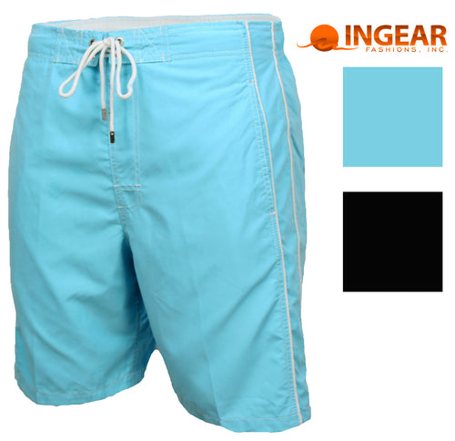 Ingear Mens Basic Swim Trunk Shorts