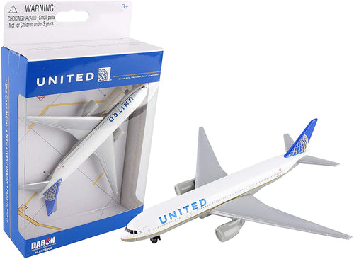Daron United Airlines 777 Die Cast Metal Collectible Toy Airplane