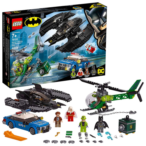 LEGO DC Super Heroes Batman: Batwing and The Riddler Heist (76120,489 Pcs)