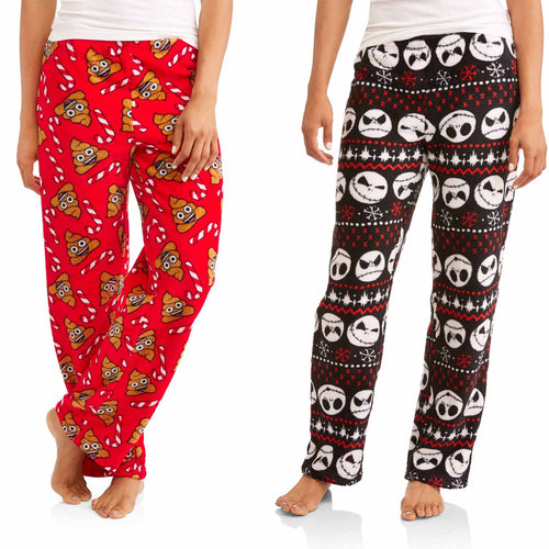 Briefly Stated Womens Plush Sleep Pant