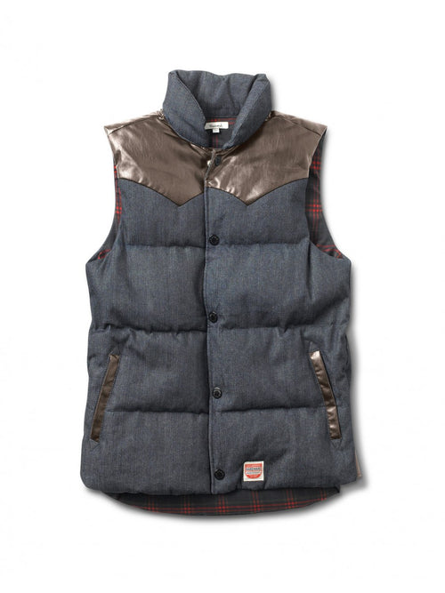 Diamond Supply Co. Mens Packer Puffer Vest
