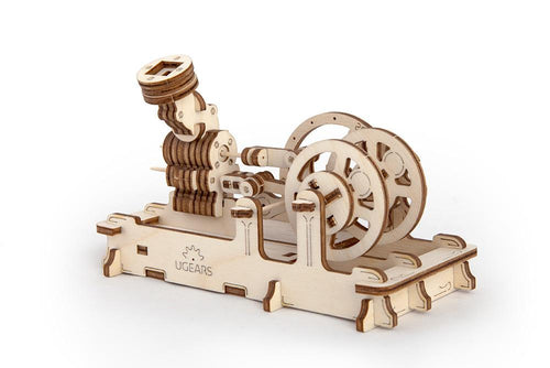 UGears Plywood Engine Collectible Mechanical Model