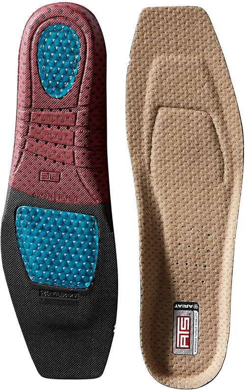 Ariat Men's ATS Shoe Insert Wide Square Toe Insole Footbeds