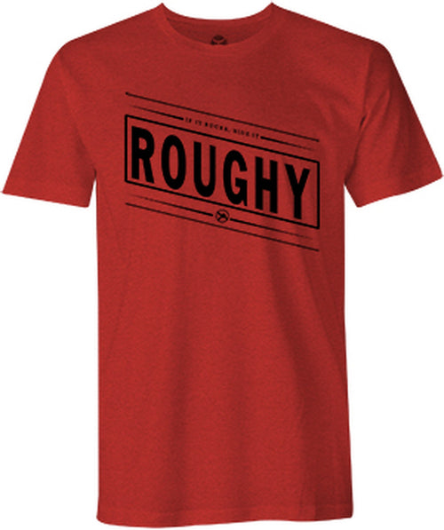 Hooey Mens Roughy Bucker Crew Neck Short Sleeve Tee-Shirt
