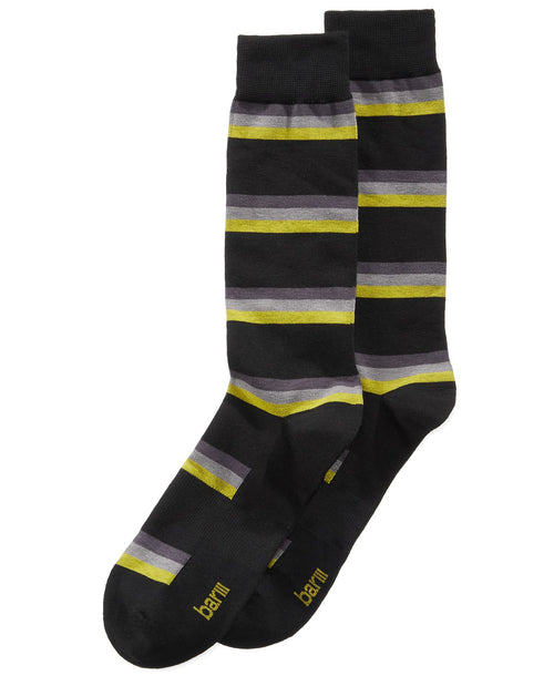 Bar III Mens Printed Seamless Toe Crew Socks