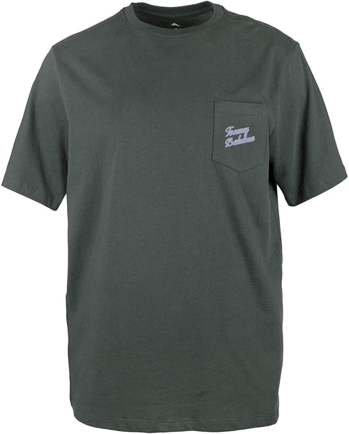 Tommy Bahama Mens Crew Neck Graphic Pocket T-Shirts