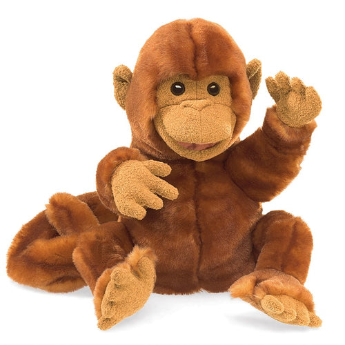 Folkmanis Play Pretend Animal Puppet, Classic Monkey