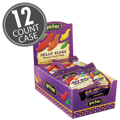 Jelly Belly Harry Potter Gummi Jelly Slugs 2.1 oz Bags 12 Count Case