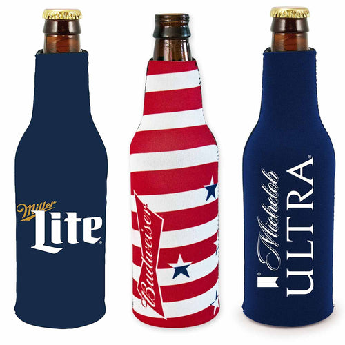 Kolder Beer Bottle Beverage Holder Cooler Sleeves-2 Pack