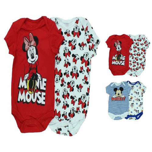 Disney Babies 2pc Bodysuit Set Infant Onesie Bodysuits