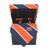 ZEP-PRO Mens NCAA Neck Tie, Pocket Square, Cuff Links Gift Box Set