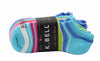 K. Bell Women's 9 Pack Soft Cotton Blend No Show Socks