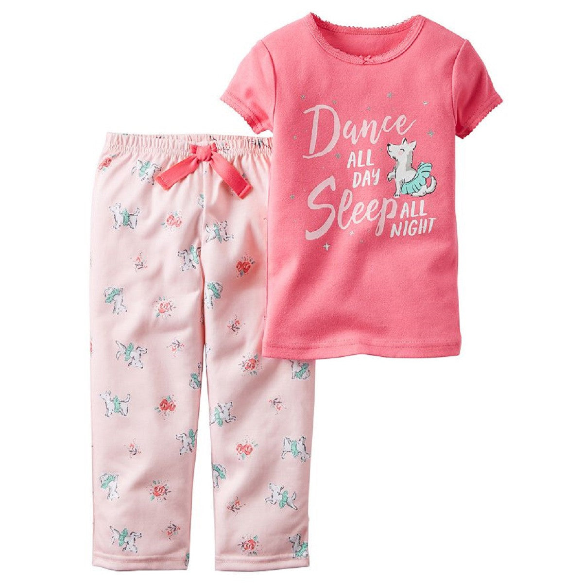 ef530c246e Carters Girl s 2 Piece Cozy Flannel Pajamas Shirt and Pant Sleepwear ...