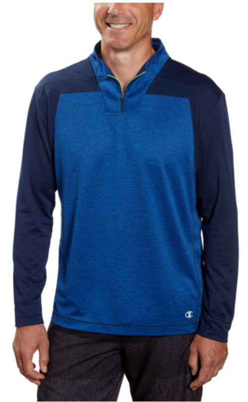 Champion Men's Elite Performance Dry Active 1/4 Zip Pullover Sweater