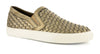 Corkys Womens Powder Faux Leather Weave Casual Shoes